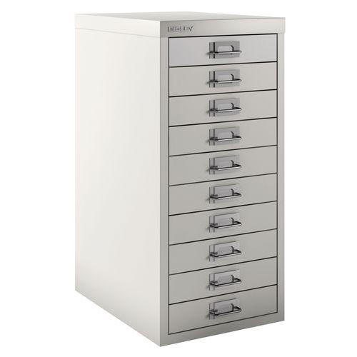 Armoire 10 tiroirs texturée - Bisley