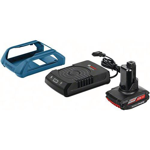 Pack batterie Induction GBA 12V 2.5Ah W avec chargeur GAW 18V-30 Bosch
