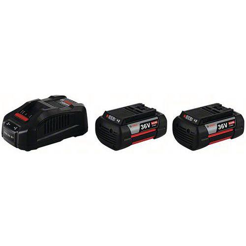 Pack Twin 2 batteries 36 V-LI 6,0 Ah Bosch