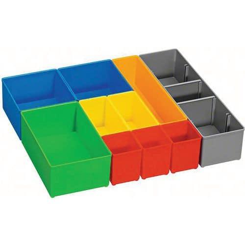 Set de 10 casiers couleurs i-BOXX Bosch