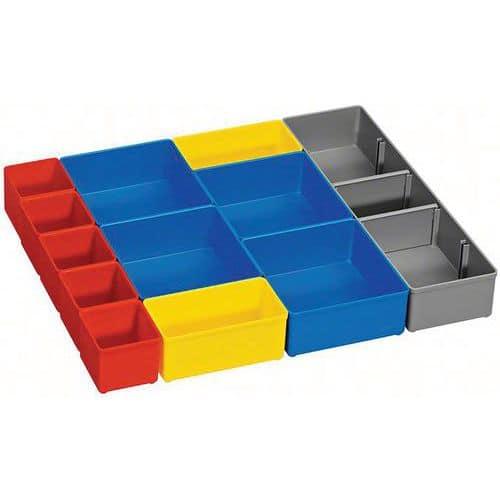 Set de 12 casiers couleurs i-BOXX Bosch