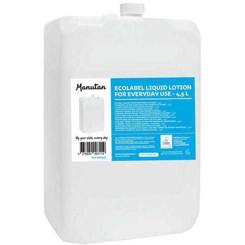 Lotion liquide usage quotidien Natureco 4,5 L - Lot de 4 - Manutan