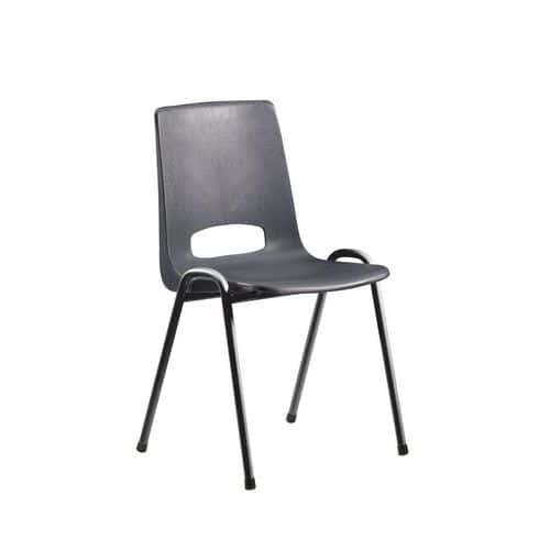 Chaise coque plastique - Anthracite
