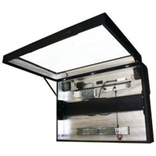 Vitre anti-reflets pour caisson écran plat - CUC