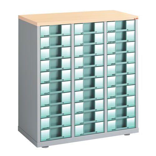 Comptoir à tiroirs 3 colonnes