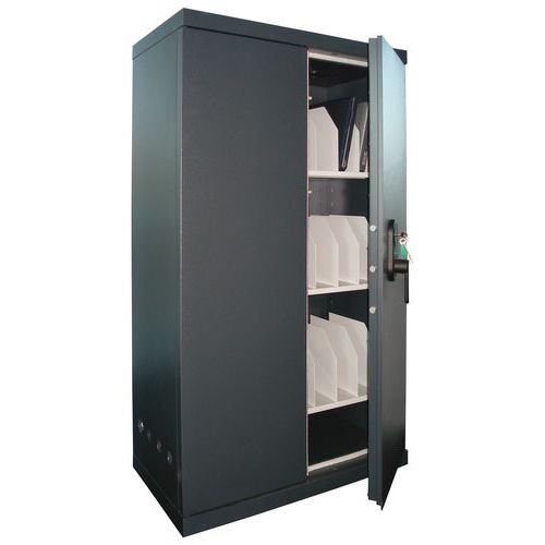 armoire pour ordinateur portable lloyd 48 ordinateurs manuta. Black Bedroom Furniture Sets. Home Design Ideas