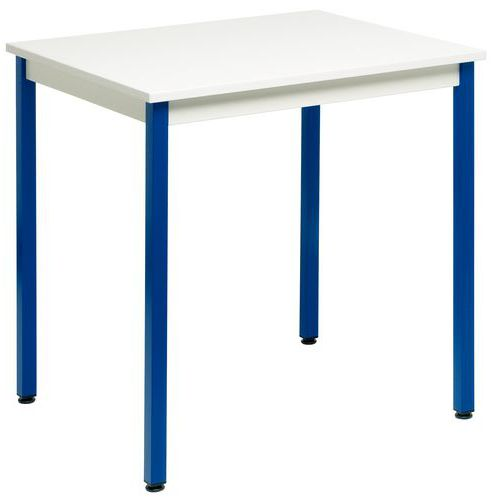 Table polyvalente manutan largeur 70 cm for Table largeur 70 cm avec rallonge
