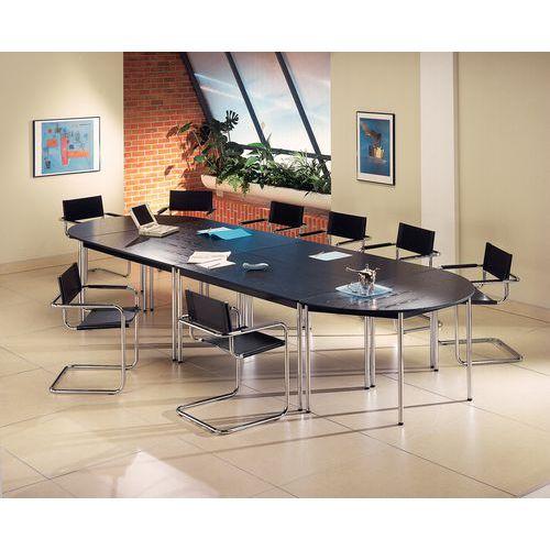 table de r union modulaire confort demi cercle. Black Bedroom Furniture Sets. Home Design Ideas