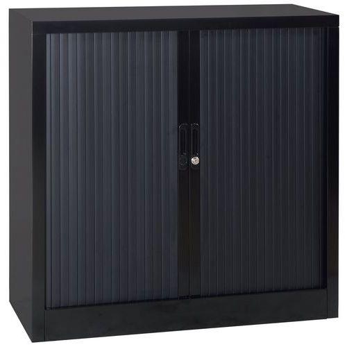 Armoire Basse A Rideaux En Kit Largeur 120 Cm Manutan Fr