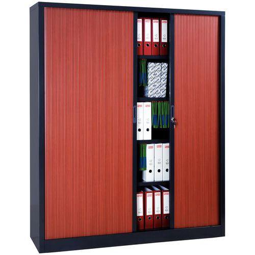 Armoire à rideaux extra large en kit - Largeur 160 cm - Manutan.fr