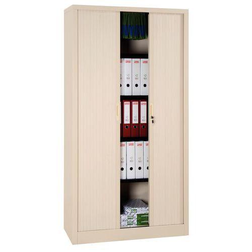 armoire haute rideaux en kit largeur 100 cm. Black Bedroom Furniture Sets. Home Design Ideas