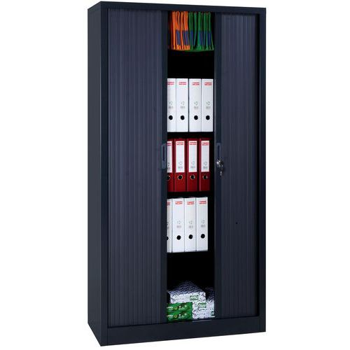 armoire haute rideaux en kit largeur 120 cm. Black Bedroom Furniture Sets. Home Design Ideas