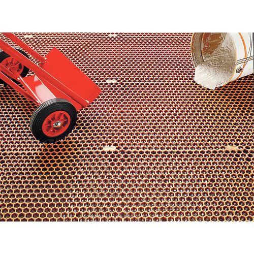 caillebotis nid d 39 abeille en dalles. Black Bedroom Furniture Sets. Home Design Ideas