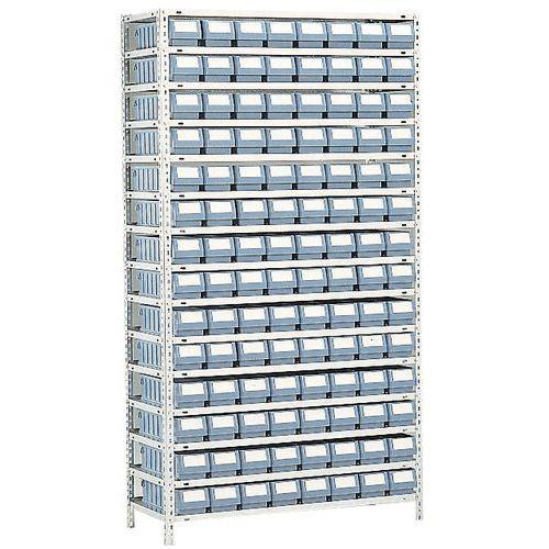 rayonnage avec bacs tiroirs s rie rk profondeur 500 mm. Black Bedroom Furniture Sets. Home Design Ideas