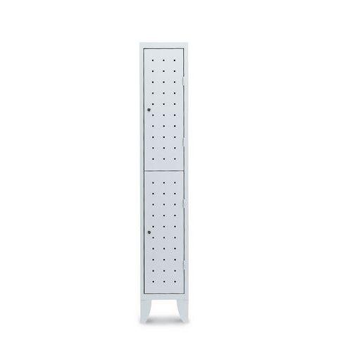 vestiaire 2 cases penderie design 1 colonne largeur 300 mm s. Black Bedroom Furniture Sets. Home Design Ideas