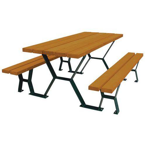 Table Banc Tabalou Manutan Fr