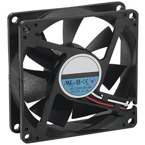Ventilateur Extra Silencieux - 80x80x25