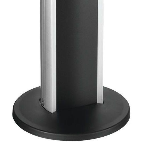 Embase de fixation sol PFA 9103 pour tubes PUC 25** VOGEL'S