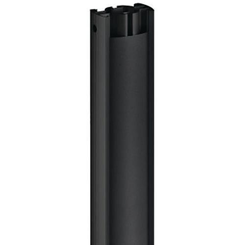 Tube basique PUC 2508B noir, 80 cm VOGEL'S