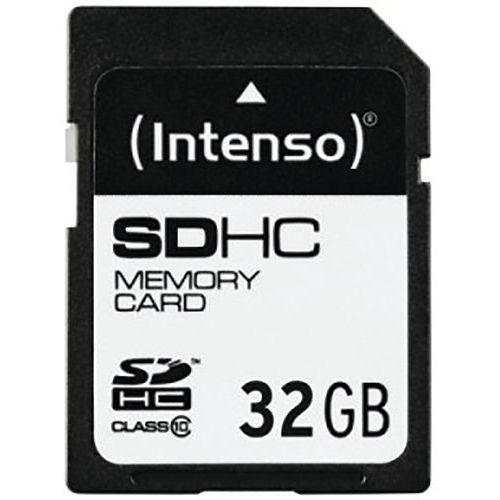 Carte SDHC Class 10 - 32Go INTENSO