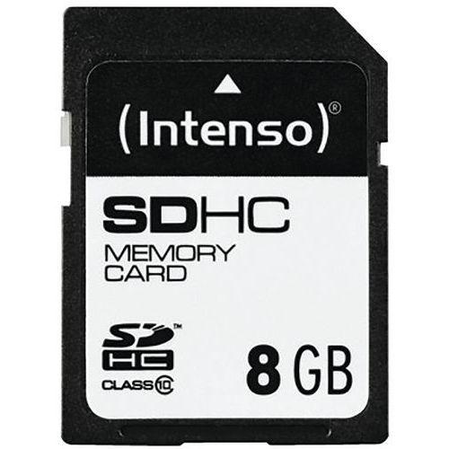 Carte SDHC Class 10 - 8Go INTENSO