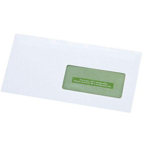 Enveloppe blanche recycl e avec fen tre for Enveloppe c4 avec fenetre