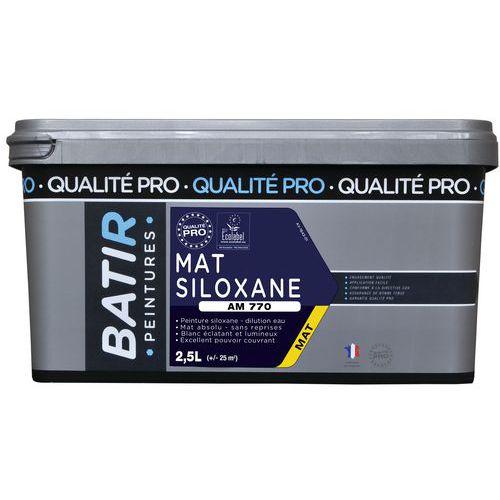 Peinture mat siloxane AM770 - 2,5 L - Batir
