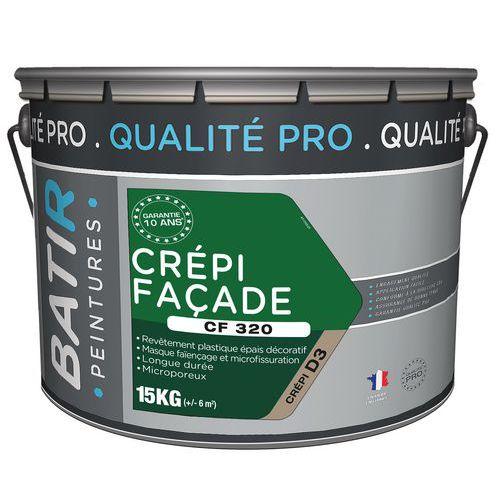 Peinture crépie façade - CF320 - 15 kg - Batir