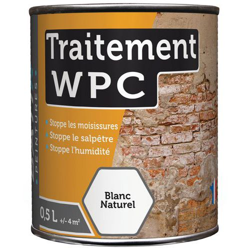 Peinture traitement WPC - 0,5 L ou 2,5 L - Batir