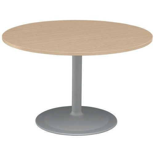 Table ronde pied tulipe en h tre - Table ronde pied tulipe ...