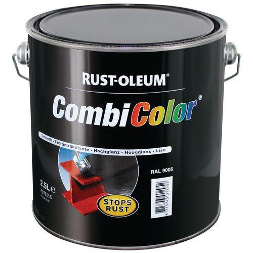 Primaire et finition antirouille combicolor l et 2 5 l - 2eme couche de peinture sans trace ...
