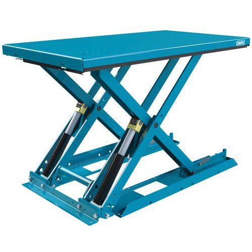 Table élévatrice ergonomique fixe extraplate MX-20 - Capacité 2000 kg