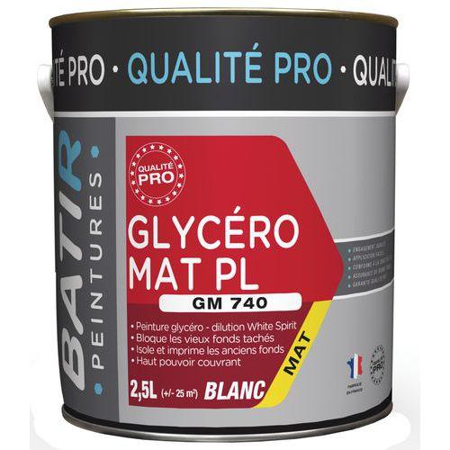 Peinture glycero mat pl GM740 - 2,5 L - Batir