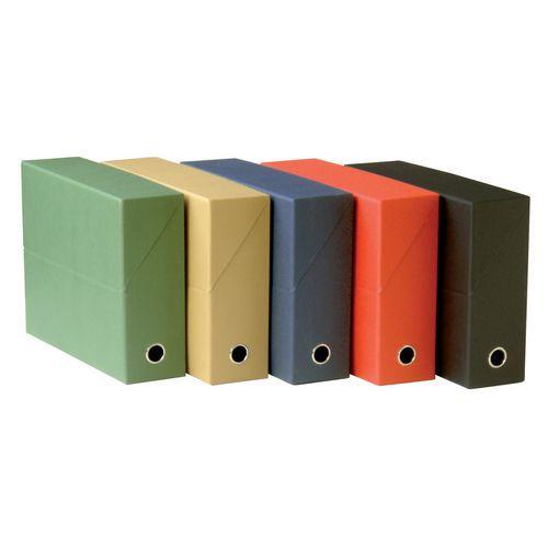 Boîte de classement carton - Dos largeur 12 cm - Fast