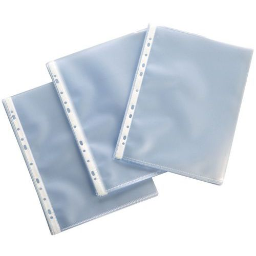 Pochette transparente perforée standard A4
