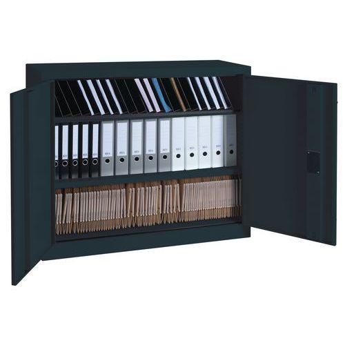 Armoire monobloc à portes battantes - H 100 x l 120 cm
