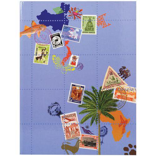 Album de timbres Globe-Trotter 16 pages noires