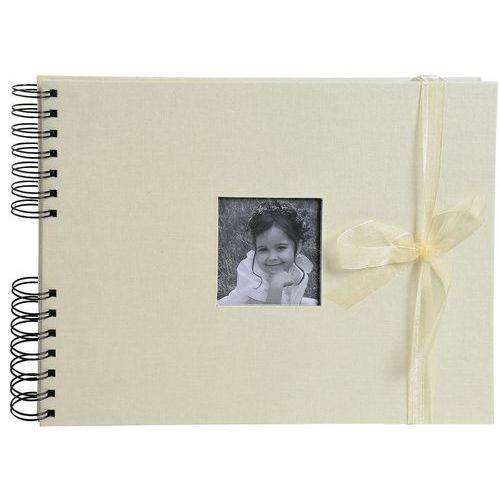 Album photos à spirales 50 pages blanches Personnalisable