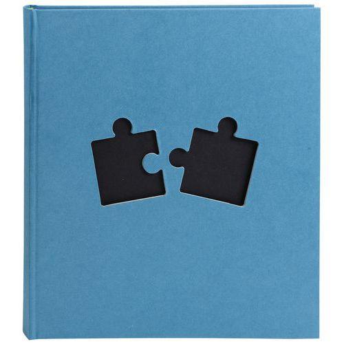 Album photos livre 60 pages noires PUZZLE