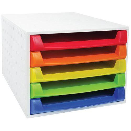 Caisson individuel 5 tiroirs THE BOX