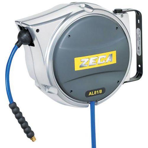 Enrouleur aluminium air comprimé et eau Zeca - 10 m à 16 m