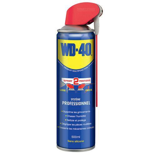Dégrippant lubrifiant multifonction - 500 mL - WD-40