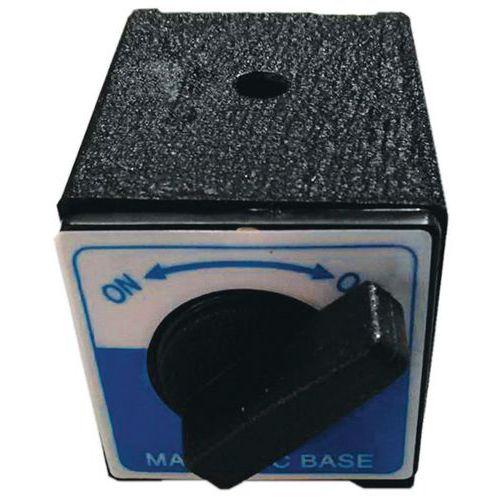 Base magnétique pour support de comparateur mécanique - Manutan