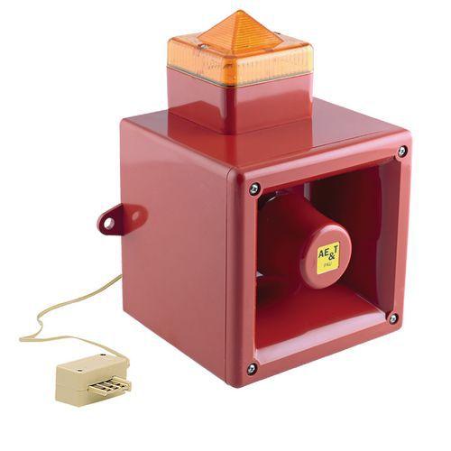 Amplificateur sonore et lumineux pour téléphone analogique
