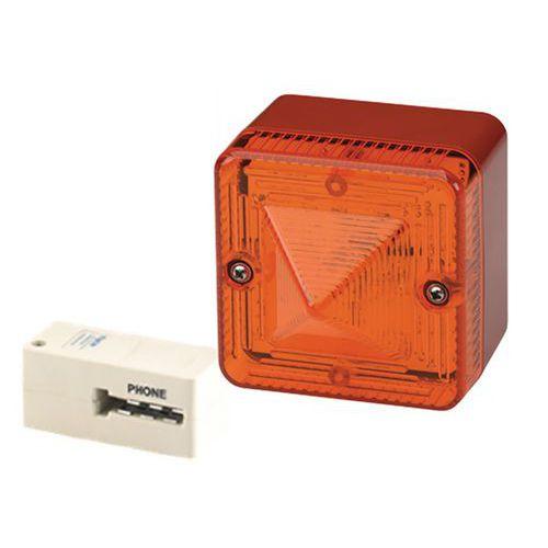 Amplificateur lumineux pour téléphone analogique 230 Vca