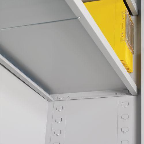 Tablette pour armoire à portes pliantes en kit - 120 cm