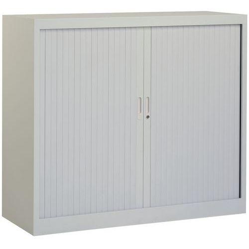 armoire basse rideaux en kit largeur 100 cm. Black Bedroom Furniture Sets. Home Design Ideas