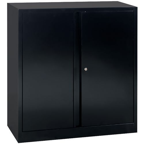 armoire basse portes battantes monter largeur 100 cm man. Black Bedroom Furniture Sets. Home Design Ideas