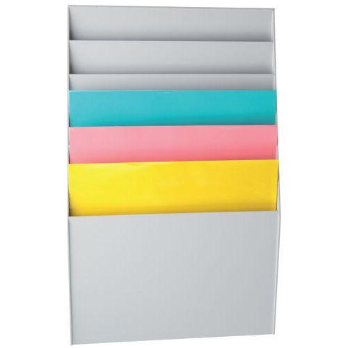 Trieur classeur - 6 compartiments - Paperflow