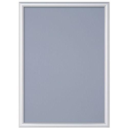 Cadre clic-clac aluminium avec coin pointu - Manutan